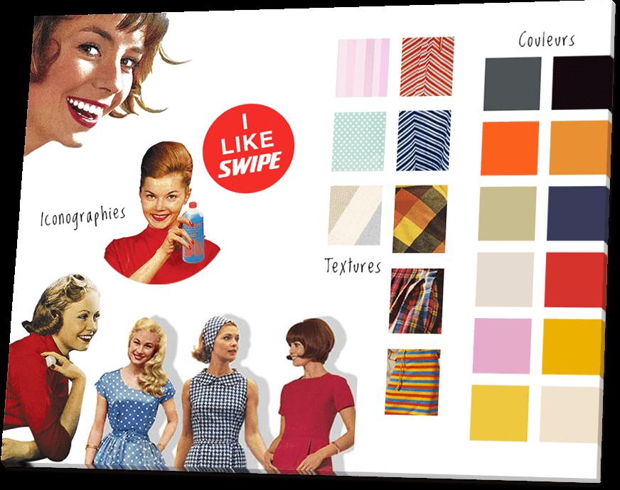 Charte de la nouvelle identité de la marque Swipe