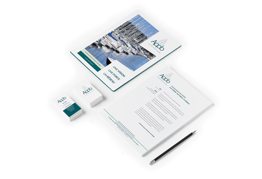 Design graphique des outils de communication print de l'APPB