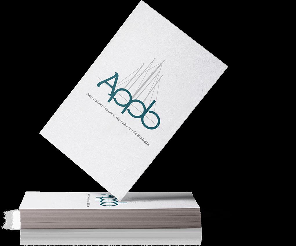 Cartes de visite recto de l'APPB